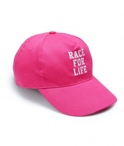 Baseball Cap Race For Life 2017 Cancer Research UK
