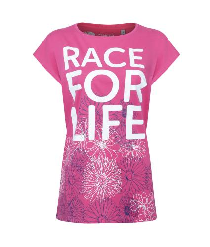 Race for Life Floral T-shirt - 10