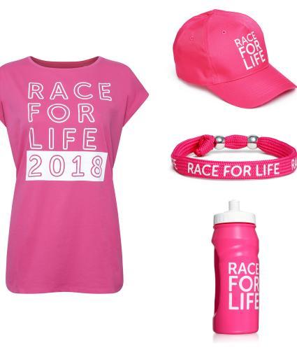 Race for Life 2018 Starter Kit