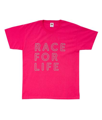 Race for Life Survivor T-shirt
