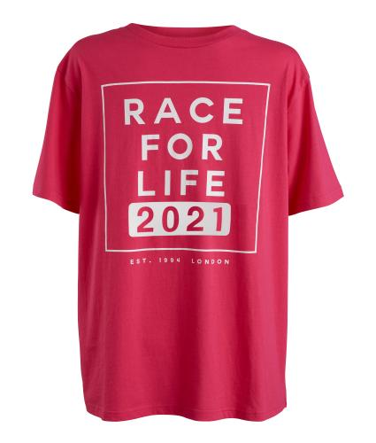 Race for Life 2021 Dated Mens T-shirt