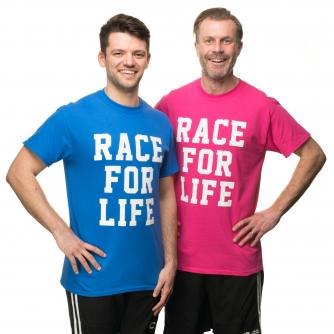 Race for Life Men's T-Shirt, Cancer Research UK